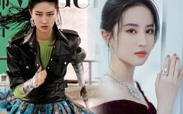 Đang đẹp như tiên, Lưu Diệc Phi đổi style lênbìa tạp chí, CĐM liền chê càng tô vẽ càng xấu