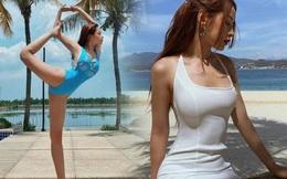 Liên tục khoe các tư thế tập khó nhằn, phải chăng Chi Pu muốn làm nữ thần yoga