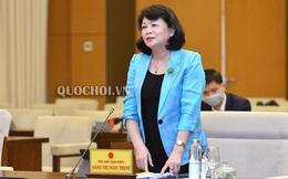 Trình Quốc hội miễn nhiệm chức danh Phó Chủ tịch nước với bà Đặng Thị Ngọc Thịnh