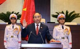 VIDEO lễ tuyên thệ nhậm chức của Chủ tịch nước Nguyễn Xuân Phúc