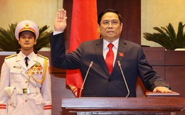 VIDEO: Thủ tướng Chính phủ Phạm Minh Chính tuyên thệ nhậm chức