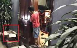 Hà Nội: Phát hiện bé gái sơ sinh bị bỏ rơi trước cửa nhà dân