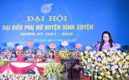 Hội LHPN tỉnh Vĩnh Phúc tổ chức thành công Đại hội phụ nữ điểm cấp huyện