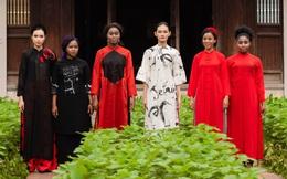 Cao Minh Tiến thiết kế áo dài lấy cảm hứng từ ngôn ngữ nước Pháp