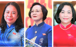 Quốc hội khóa XIV hoàn thành đợt kiện toàn nhân sự, có 3 nữ nhân sự chủ chốt