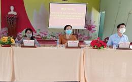 4 ứng cử viên đại biểu Quốc hội thuộc đơn vị số 1 tỉnh Đồng Tháp tiếp xúc cử tri