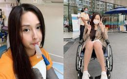 Vừa chóng mặt ngồi xe lăn, Mai Phương Thúy lại đăng ảnh nhập viện vì đau tim, khó thở