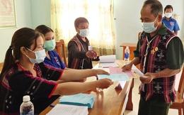 4.850 cử tri 6 xã vùng biên giới huyện Nam Giang đi bầu cử sớm