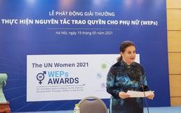 Giải thưởng Nguyên tắc trao quyền cho phụ nữ năm 2021 có 6 hạng mục