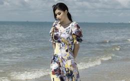 Á hậu Ngọc Thảo trở lại với hình ảnh nàng thơ trên bãi biển