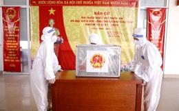 Những hình ảnh Bệnh viện K TƯ chuẩn bị công tác bầu cử ĐBQH và HĐND các cấp