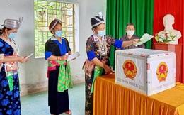Hơn 42 nghìn cử tri dân tộc thiểu số ở Nghệ An náo nức đi bầu cử sớm