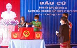 Tỷ lệ cử tri đi bỏ phiếu tại Hòa Bình, Sơn La, Thừa Thiên Huế đều đạt trên 99%