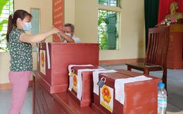 Hưng Yên: Cử tri ở xã có 8 ca mắc Covid-19 chấp hành nghiêm công tác phòng dịch khi đi bầu cử