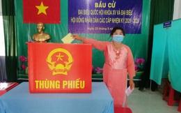 Đồng Tháp: TP Sa Đéc và huyện Hồng Ngự có tỷ lệ cử tri đi bầu đạt 100%