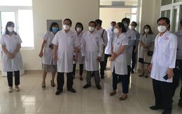 Thứ trưởng Bộ Y tế Trần Văn Thuấn: Đề nghị BV Đại học Kỹ thuật Y tế Hải Dương tiếp nhận thêm F1 từ BV K TƯ