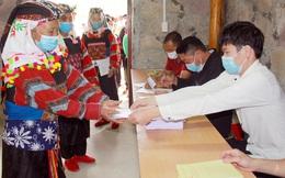 Tỷ lệ cử tri Hà Giang đi bỏ phiếu đạt 99,96%