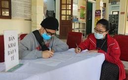 Nữ nhân viên Trạm Y tế xã bị phạt do không tiếp nhận khai báo của người dân về từ vùng dịch
