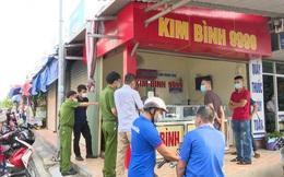 Một tiệm vàng ở Quảng Bình bị kẻ gian đột nhập trộm hơn 3 cây vàng