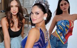 """Hậu bị fan Việt """"nổi đóa"""", Miss Universe 2015 lên đồ gợi cảm xuống phố"""