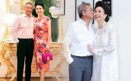 Nữ hoàng ảnh lịch Diễm My và chồng sau 27 năm chung một nhà