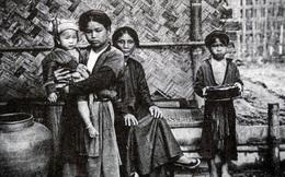 Hình ảnh trẻ em Việt Nam cách đây hơn 100 năm