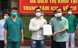 Bắc Giang: 2 bệnh nhân Covid-19 tiên lượng rất nặng đã xuất viện