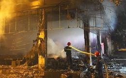 Công an điều tra nguyên nhân vụ cháy phòng trà ở Nghệ An