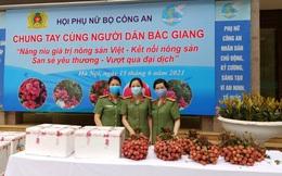 Trong 5 ngày, 570 tấn vải thiều Bắc Giang đã đến với phụ nữ cả nước