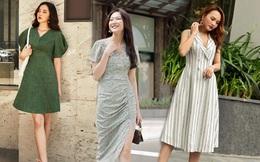 4 mẫu váy hè hợp với các nàng chân ngắn