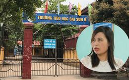 Công bố kết luận thanh tra vụ cô giáo tố bị trù dập ở Trường Tiểu học Sài Sơn B