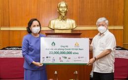Tập đoàn TCC đóng góp 1 triệu USD mua Vaccine phòng Covid-19