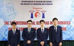 Học sinh Việt Nam đoạt 4 Huy chương Bạc Olympic Tin học Quốc tế 2021