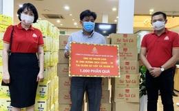 2.600 phần quà ủng hộ y, bác sĩ và người dân gặp khó khăn