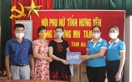 Hội LHPN Hưng Yên tặng 1.500 khay đựng thức ăn cho trẻ em trường mầm non