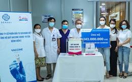 BV E tiếp nhận 142 triệu đồng vào Quỹ vaccine phòng chống dịch Covid-19