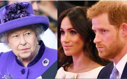 """Nữ hoàng Anh khẳng định hành động của vợ chồng Harry và Meghan rất """"đáng trách"""""""