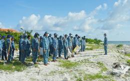 Tuổi trẻ Trường Sa ra quân hưởng ứng ngày môi trường thế giới