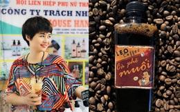 Cô chủ nổi tiếng nhờ sáng chế hương vị cà phê muối