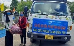 Hội LHPN tỉnh Hậu Giang hỗ trợ tiêu thụ 11 tấn khoai lang cho nông dân Vĩnh Long