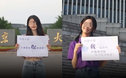 Trung Quốc: Mạng xã hội tranh cãi về hình ảnh nữ sinh cổ vũ sĩ tử
