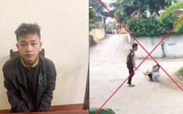 Tạm giữ nam sinh lớp 10 dùng gậy 3 khúc đánh người dã man ở Phú Thọ