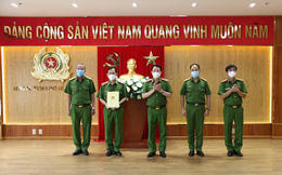 Khen thưởng Công an TPHCM trong vụ bắt tử tù trốn trại