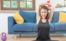 Tập luyện tại nhà giảm stress, tránh tăng cân