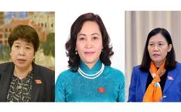 Có 3 nhân sự nữ tham gia Ủy ban Thường vụ Quốc hội khóa XV