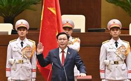 VIDEO Chủ tịch Quốc hội khóa XV Vương Đình Huệ tuyên thệ nhậm chức