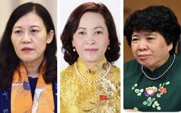 3 nữ Ủy viên Thường vụ Quốc hội tái đắc cử chủ nhiệm, trưởng ban của Quốc hội
