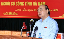 Chủ tịch nước thăm, tặng quà thương binh, gia đình người có công tại Hà Nam