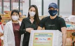 Ca sĩ Thủy Tiên nhận hơn 100 tấn thực phẩm từ Hà Tĩnh hỗ trợ người dân TPHCM