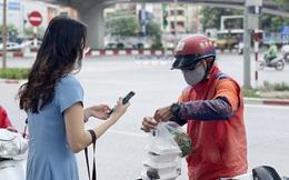 Hà Nội đã cấp phép cho 2.200 shipper hoạt động trong đợt giãn cách